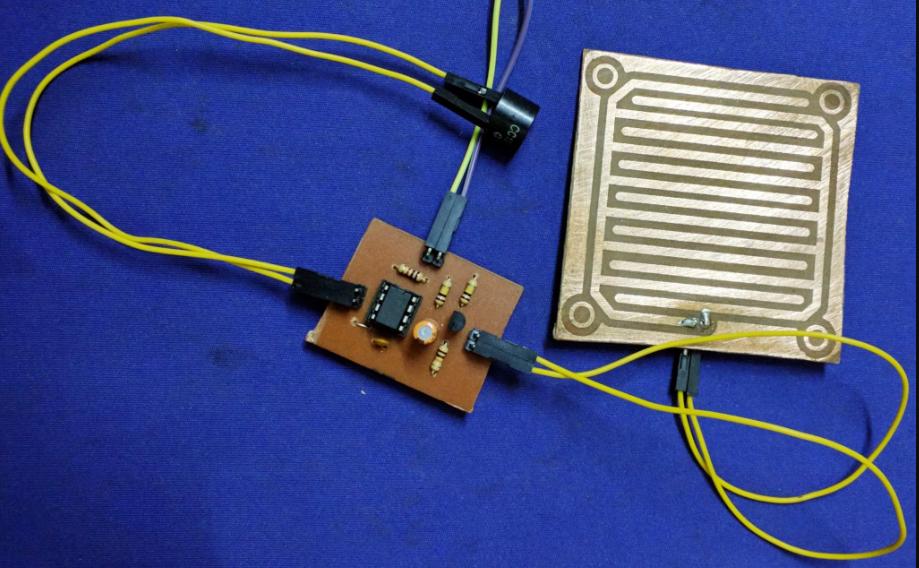 NE555 Yağmur Sensörü Bitmiş Hali